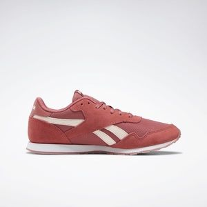 reebok • classic nylon sneaker pink